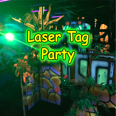 Laser Tag Party Package