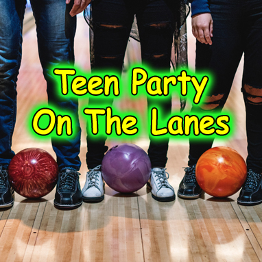 Teen Party On The Lanes