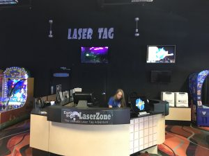 Laser Tag Area