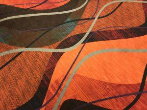 carpet at superbowl